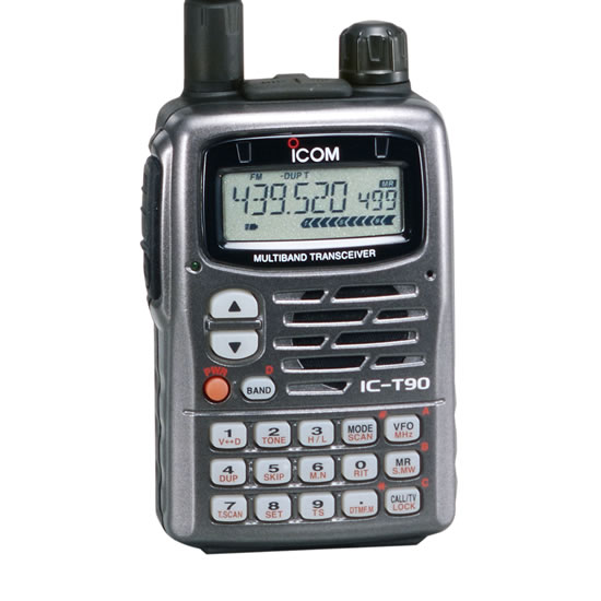 IC-T90A VHF / UHF Multiband FM Transceiver - Features - Icom America