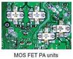 MOS FET PA units
