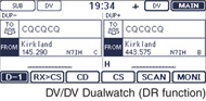 DV/DV Dualwatch (DR function)