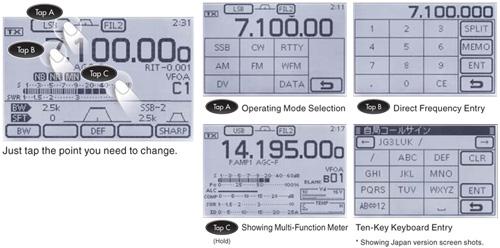 IC-7100 Control Portal