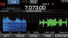 Audio scope function
