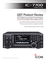 IC-7700 review