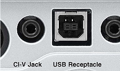 CI-V jack