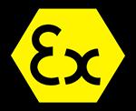 EX - intrinsincally iafe logo - Icom f3201dex