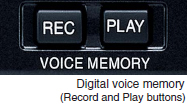 Digital voice memory