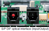 S/P DIF optical interface