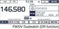 FM/DV Dualwatch (DR function)